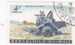 Stamps : Africa : Mali :  agricultura