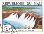 Sellos de Africa - Mali -  cataratas de chutes de gouina