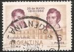 Sellos de America - Argentina -  Belgrano y Castelli