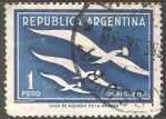 Sellos de America - Argentina -  Correo aereo