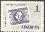 Sellos de America - Argentina -  Dia del Filatelista