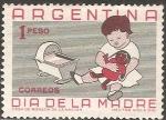 Sellos de America - Argentina -  Dia de la madre