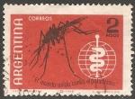 Sellos del Mundo : America : Argentina : El mundo unido contra el paludismo