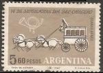 Sellos del Mundo : America : Argentina : Dia del Cartero