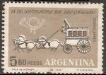 Stamps Argentina -  Dia del Cartero