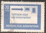 Sellos del Mundo : America : Argentina : Coloque aqui sus estampillas