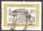 Sellos de America - Argentina -  Museo de la Ciudad de la Plata