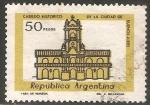 Sellos de America - Argentina -  Cabildo Historico