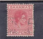Sellos de America - Bahamas -  rey George  V