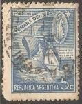 Sellos de America - Argentina -  semana del mar