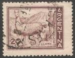 Sellos de America - Argentina -  LLama