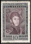 Sellos de America - Argentina -  General san Martin