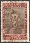 Sellos de America - Argentina -  General Don Jose de San Martin