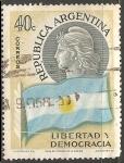 Stamps Argentina -  Libertad y Democracia