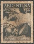 Sellos de America - Argentina -  Centenario Bolsa de cereales