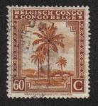 Sellos del Mundo : Africa : República_Democrática_del_Congo : Palmeras, Congo Belga