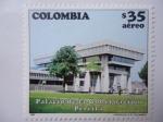 Stamps Colombia -  Palacio de la Gobernación - Pereira