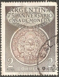 Sellos del Mundo : America : Argentina : 75º aniversario Casa de Moneda