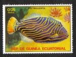Sellos de Africa - Guinea Ecuatorial -  Peces II