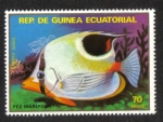 Sellos del Mundo : Africa : Guinea_Ecuatorial : Peces II