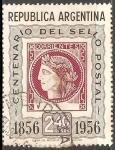 Sellos de America - Argentina -  Centenario del sello postal