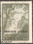 Sellos del Mundo : America : Argentina : Cataratas del Iguazu
