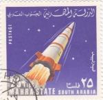 Sellos de Asia - Yemen -  aeronautica-MAHRA STATE