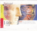 Sellos de Europa - Portugal -  año naciones unidas