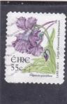 Sellos de Europa - Irlanda -  flores