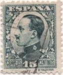 Stamps Spain -  Y & T Nº 406 (1)