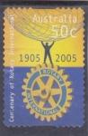 Stamps Australia -  centenario Rotary International