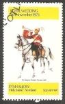 Stamps United Kingdom -  Uniforme Militar