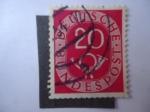 Stamps Germany -  Corneta de Correo - Alemania Federal