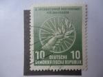 Sellos de Europa - Alemania -  IX Ciclo Internacional por la Paz - RDA.
