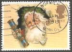 Sellos de Europa - Reino Unido -  Papa Noel