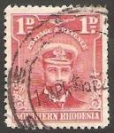 Stamps : Africa : Zimbabwe :  2 - George V