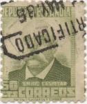 Stamps Spain -  Y & T Nº 508 (2)