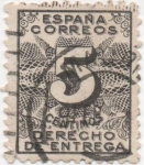 Stamps Spain -  Y & T Nº 1 Timbre