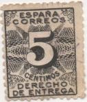 Sellos de Europa - España -  Y & T Nº 1 Timbre (1)