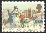 Stamps United Kingdom -  Muñeco de nieve