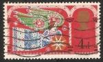 Sellos de Europa - Reino Unido -  Angeles de Navidad