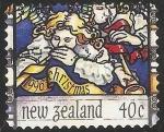 Sellos del Mundo : Oceania : Nueva_Zelanda : Angeles de Navidad