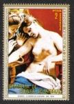 Sellos de Africa - Guinea Ecuatorial -  Cuadros Desnudos de pintores europeos