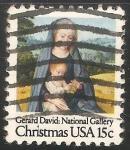 Stamps United States -  Virgen con niño Jesus