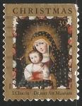 Sellos de America - Estados Unidos -  Virgen con niño Jesus