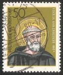 Stamps : Europe : Germany :  Benito de Nursia