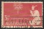 Sellos de Oceania - Australia -  Niño rezando
