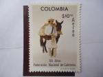 Stamps Colombia -  Scott/C-642 - 50 Años-Federación Nacional de Cafeteros