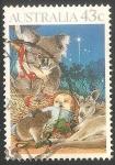 Sellos de Oceania - Australia -  Niño Jesus