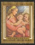 Stamps Guinea Bissau -  Virgen con niño Jesus